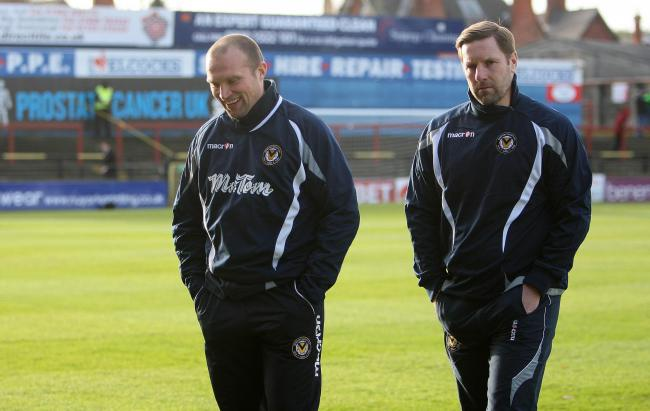 GONE: Newport County chairman of operations Gavin Foxall has backed Warren Feeney and Andy Todd to find success elsewhere