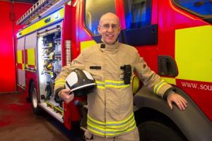 FIRST PERSON: Top Gwent firefighter Steve Logan, MBE