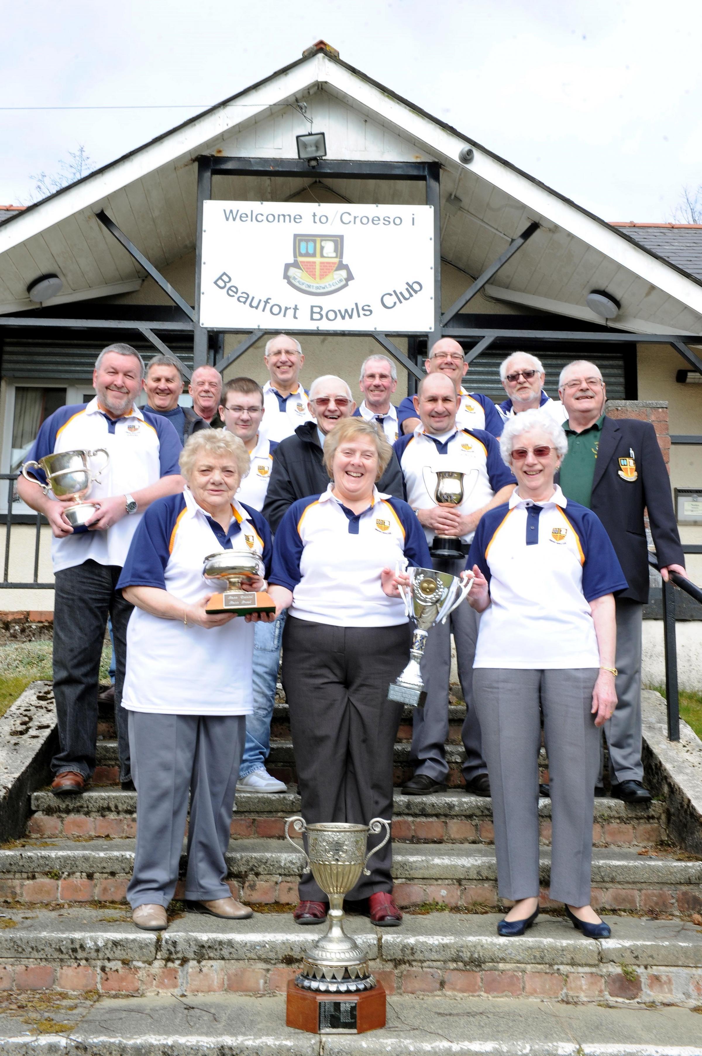 Historic Ebbw Vale bowls club celebrate 90th anniversary
