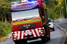 Firefighters called to 'well alight' house fire