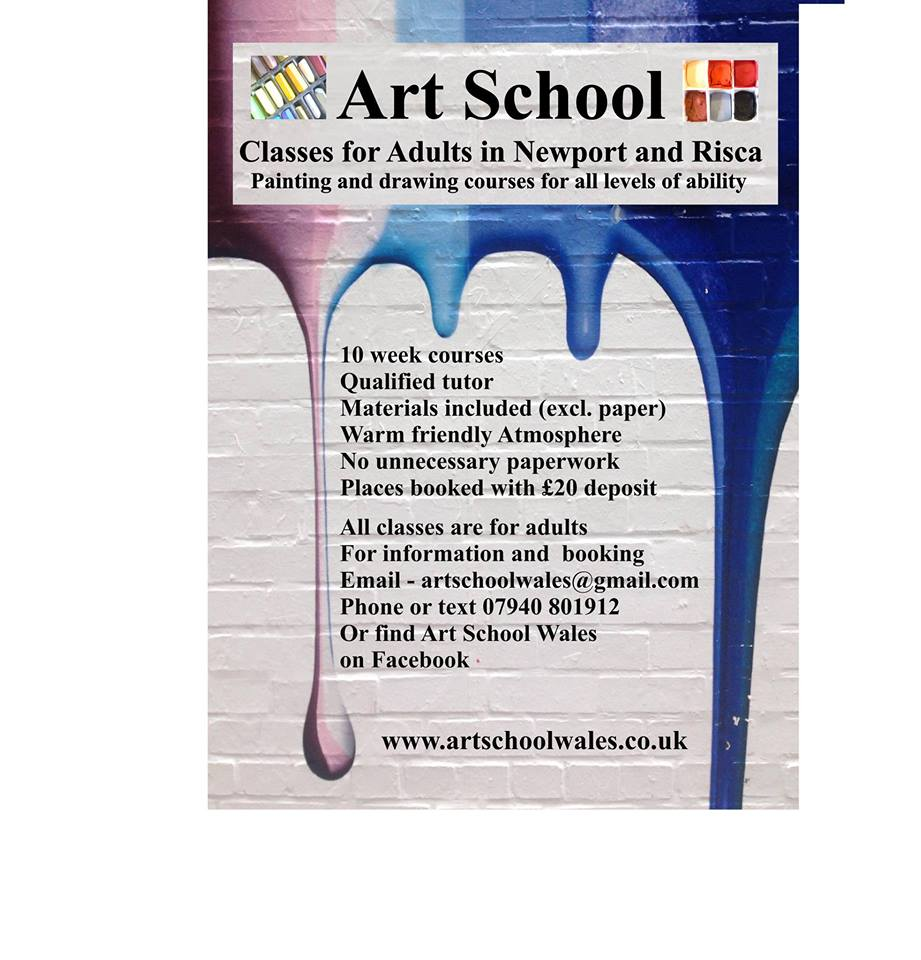 Art School Classes in Newport and Risca
