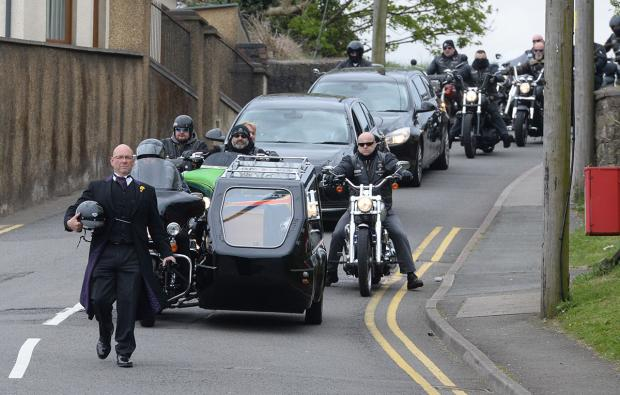 Hundreds of bikers pay tribute at Pontypool man's funeral   South