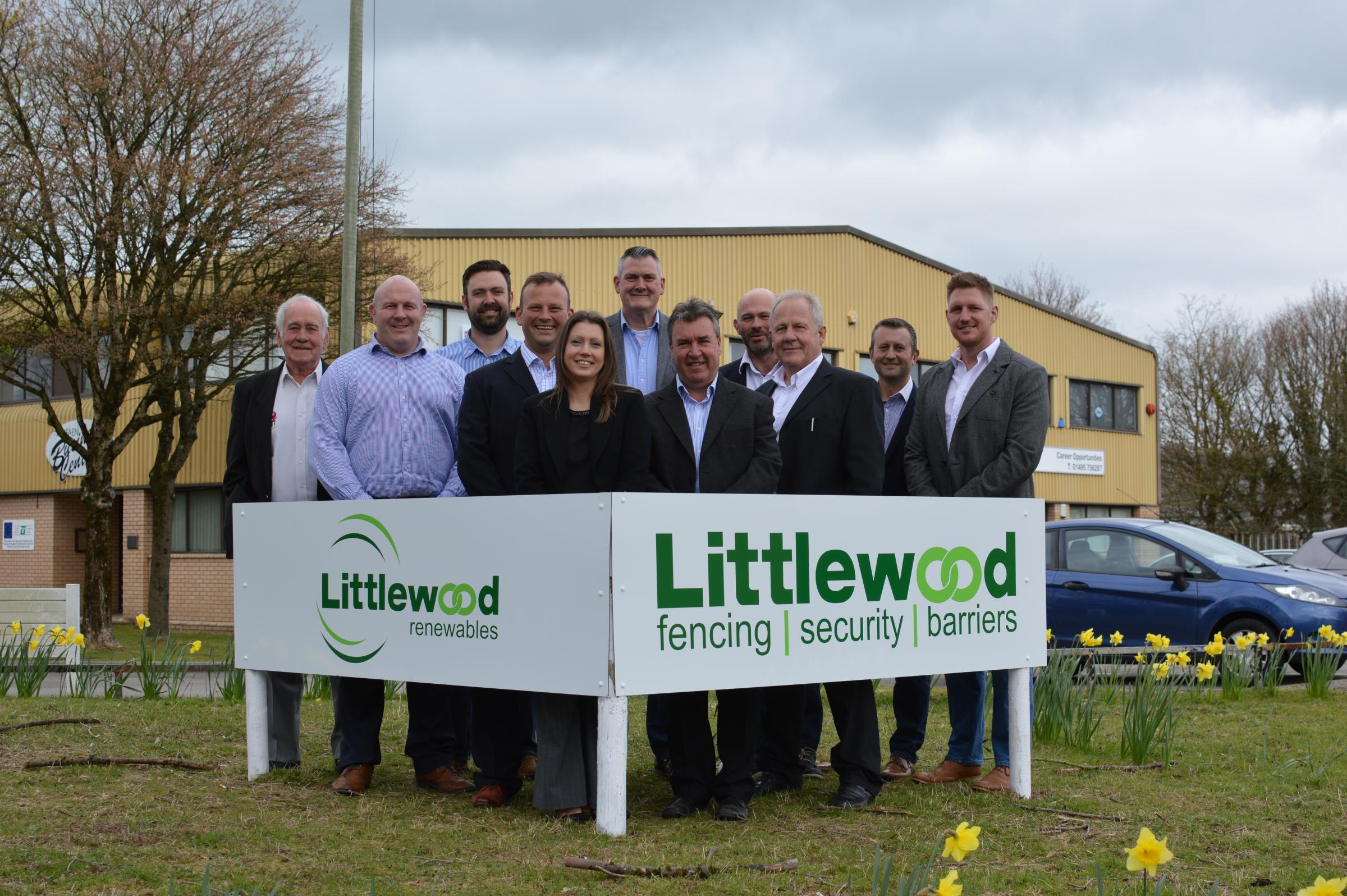 Littlewood Holdings opened a new regional office at Torfaen Business Park in New Inn
