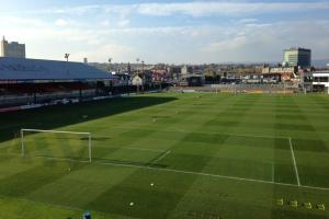 TENANTS: Newport County share Rodney Parade with Newport Gwent Dragons and owners Newport RFC