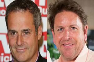 James Martin co-hosted This Morning and things got awkward with resident chef Phil Vickery