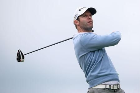 UP AND RUNNING: Bradley Dredge