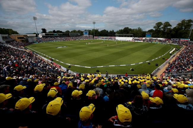 INTERNATIONAL ENCOUNTERS: The Swalec Stadium in Cardiff will host four Champions Trophy fixtures next summer