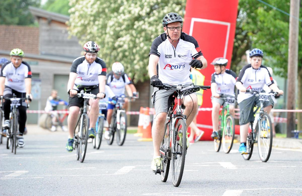 Spotted Cyclists Take Part In The Fifth Dalmatian Bike Ride