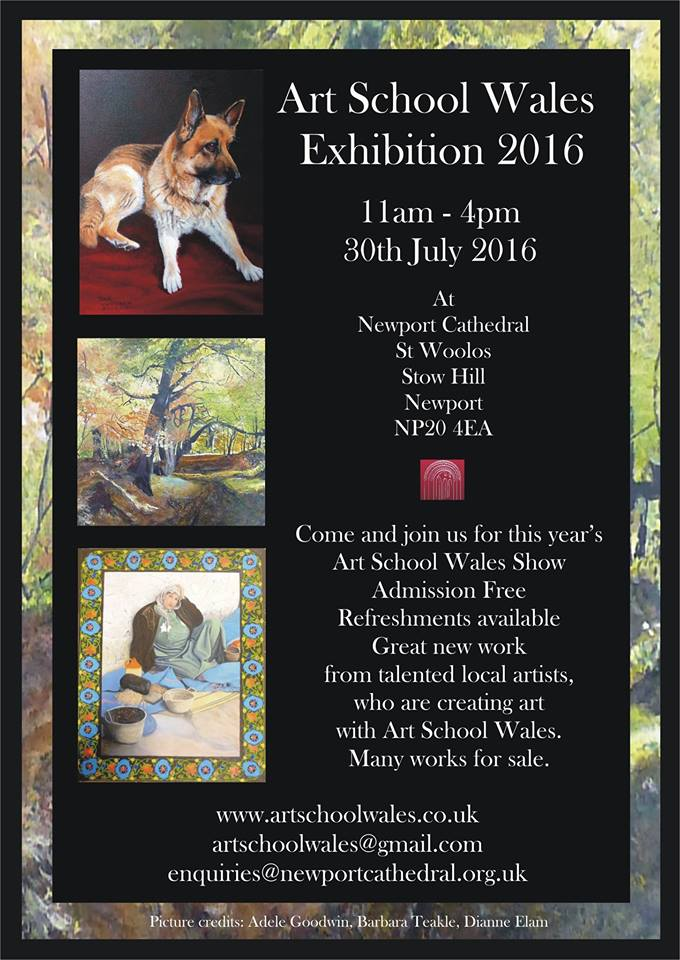 Art School Wales Summer Exhibition 2016