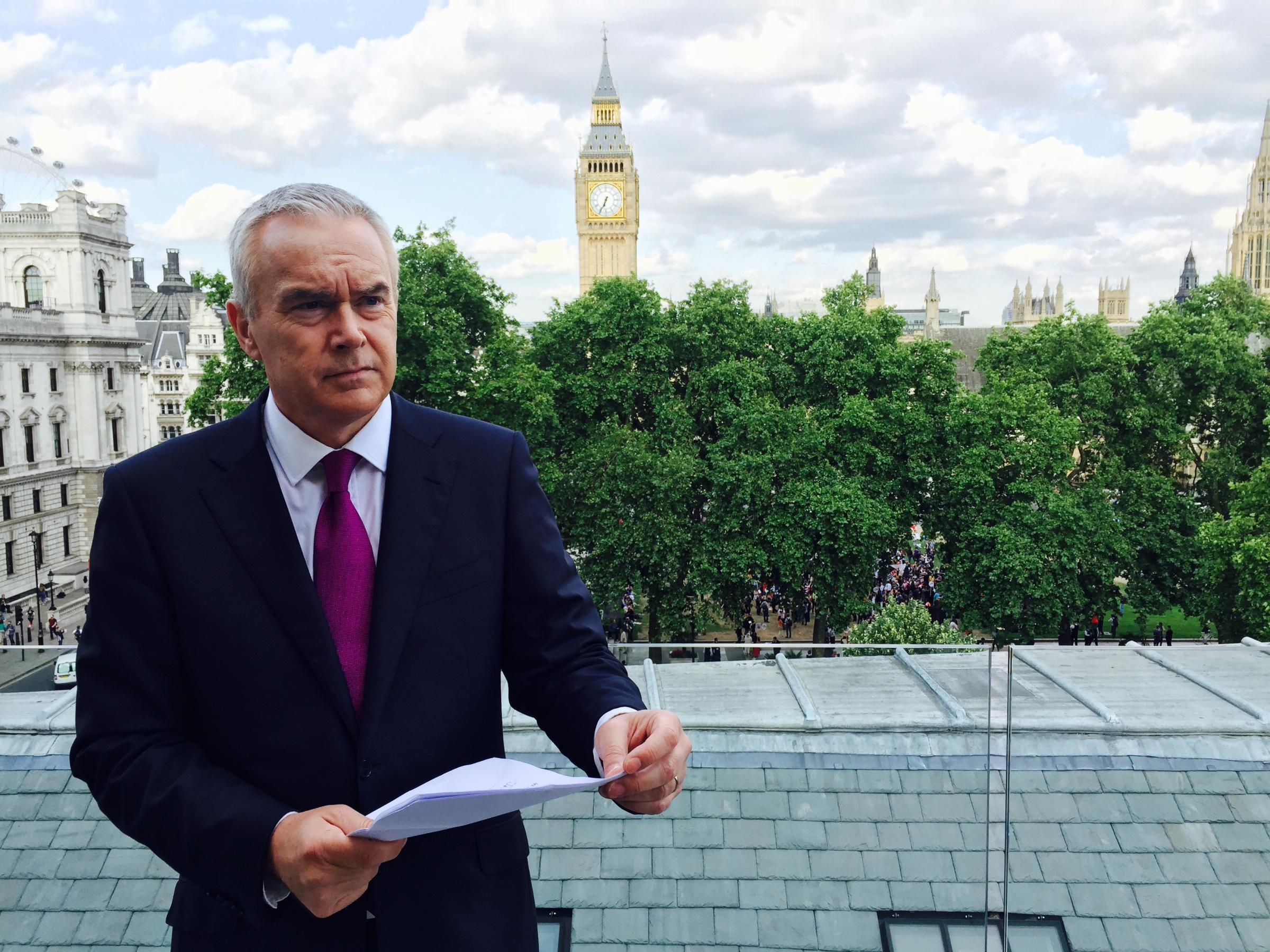 What's News? An Evening with Huw Edwards