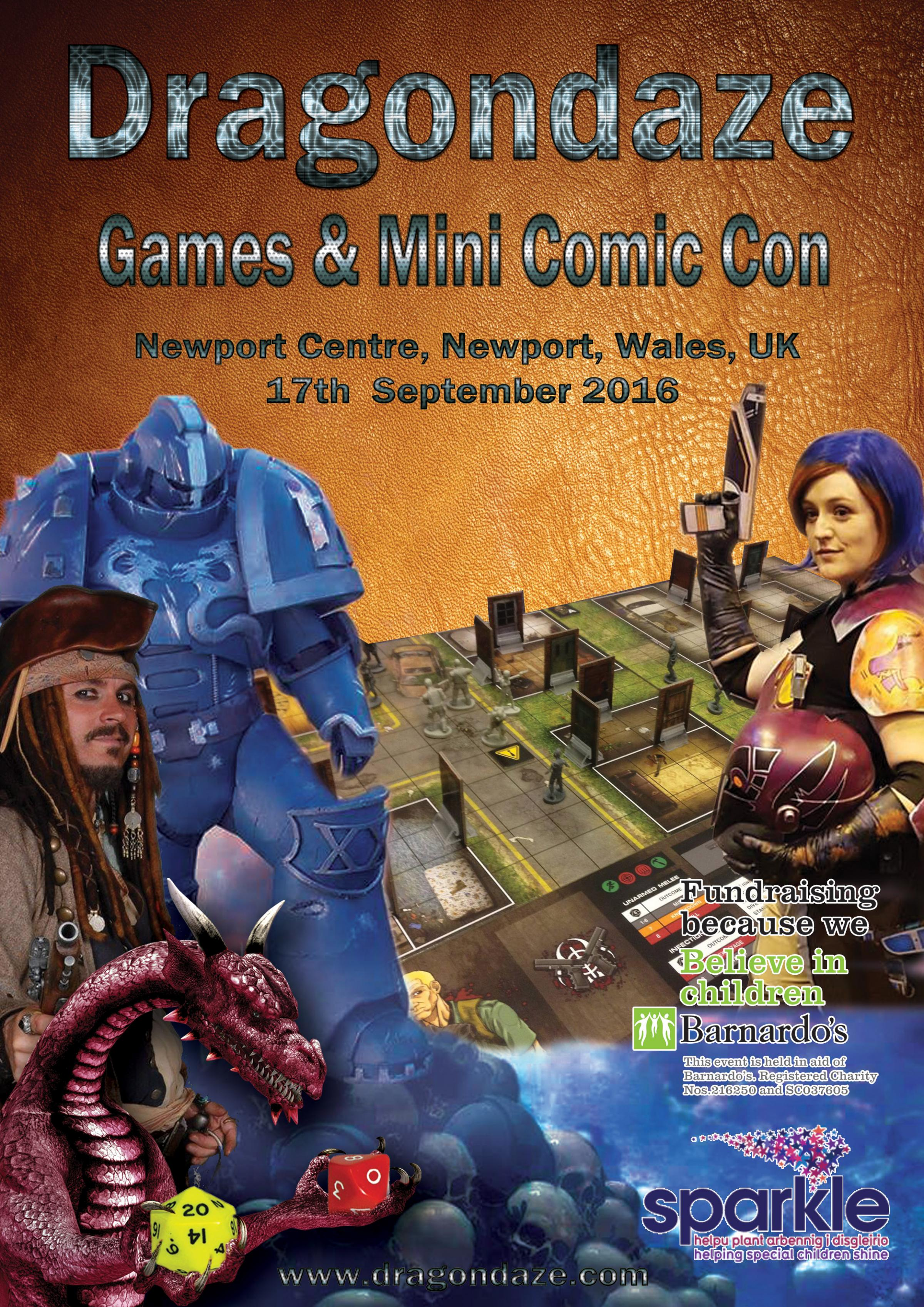 Dragondaze Games & Min Comic Con