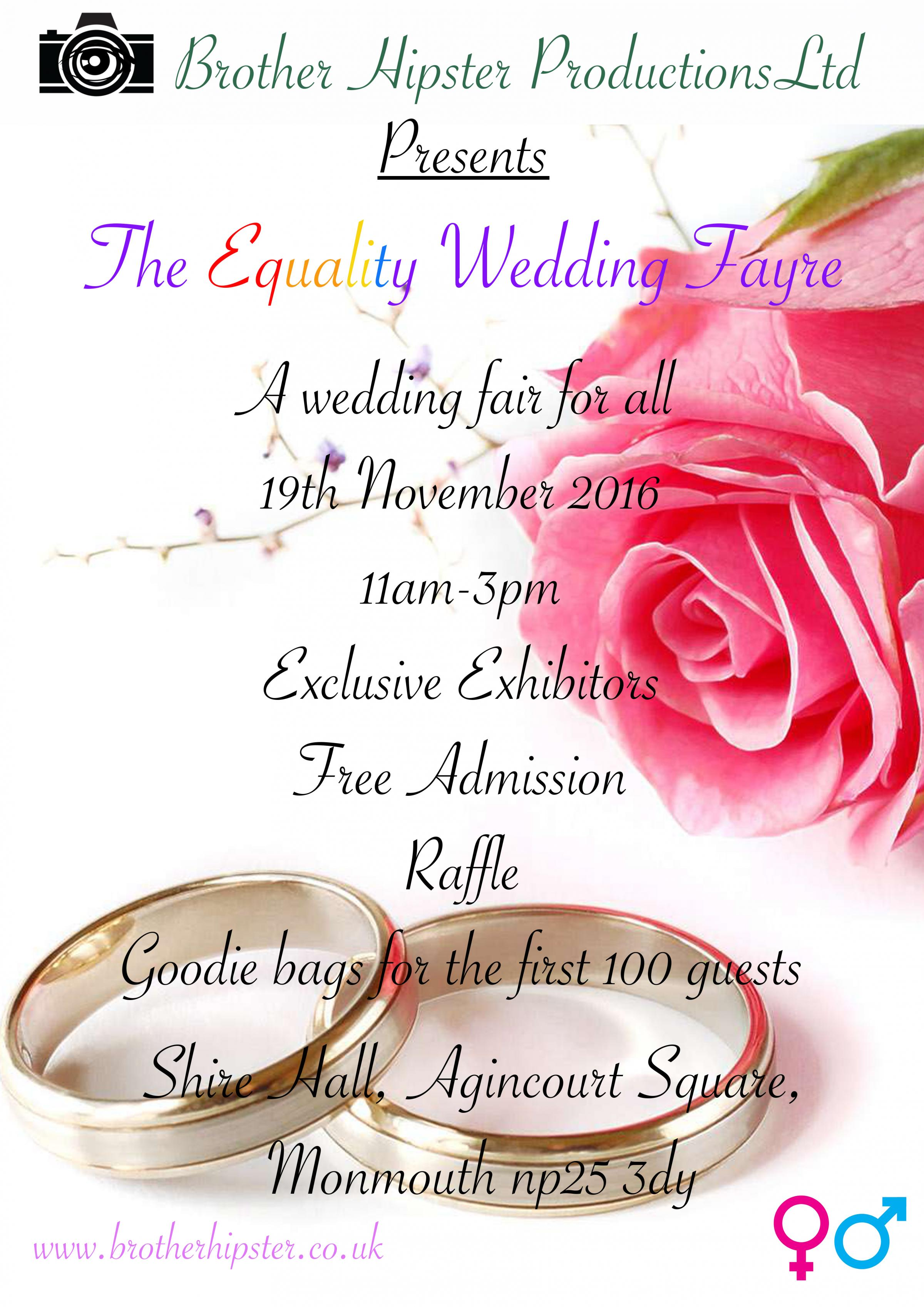 The Equality Wedding Fayre