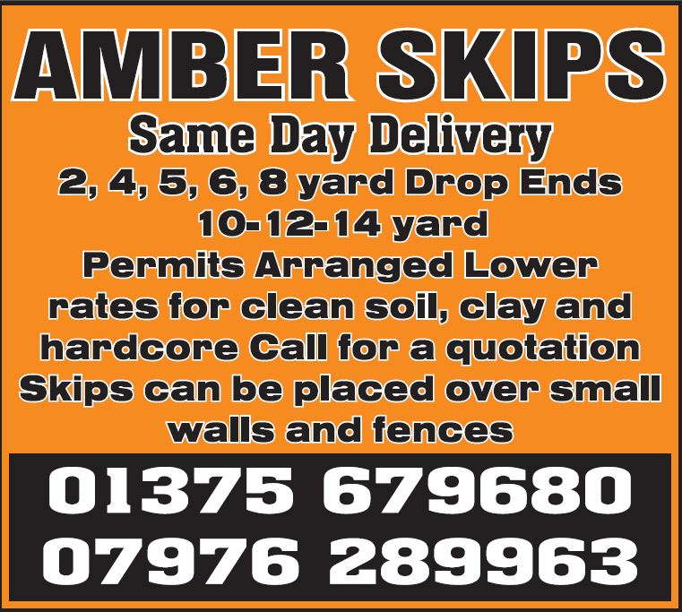 AMBER SKIPS ESSEX LTD