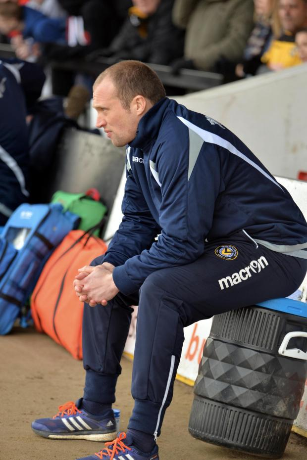 South Wales Argus: PRESSURE: Newport County manager Warren Feeney