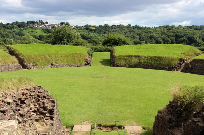 The amphitheatre at Caerleon. The area is just one of the desirable places to live in and around Newport. Picture: Karen Pearce