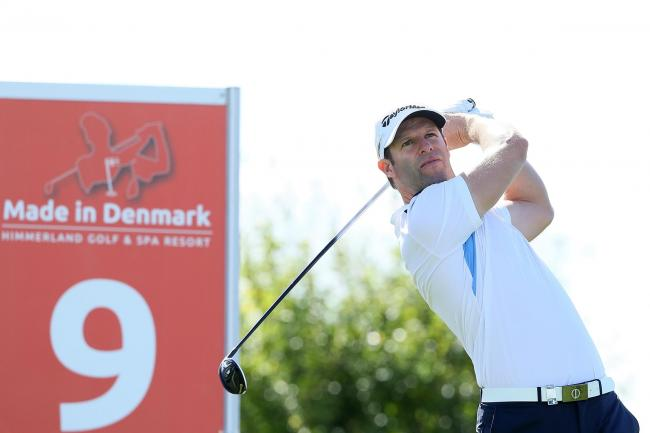 Bradley Dredge leads in Denmark