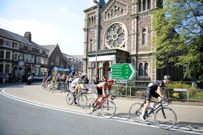 Road closure information as Tour of Britain cyclists sweep through Gwent