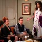 South Wales Argus: Cast of Will & Grace reunite to debate Hillary Clinton versus Donald Trump