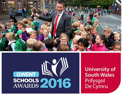 South Wales Argus: Teachers Awards montage