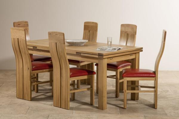 South Wales Argus Fine Dining One Of The Tables On Sale At Oak Furniture Land