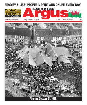 South Wales Argus: Today we remember Aberfan