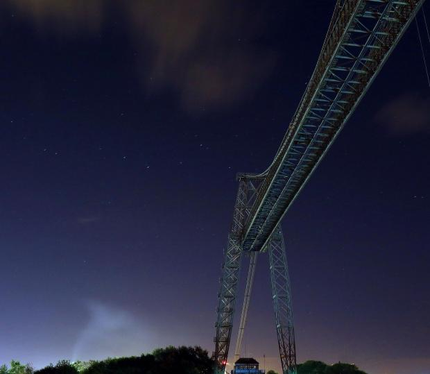South Wales Argus: Reader Matthew Thorn captured this shot of the Transporter Bridge.
