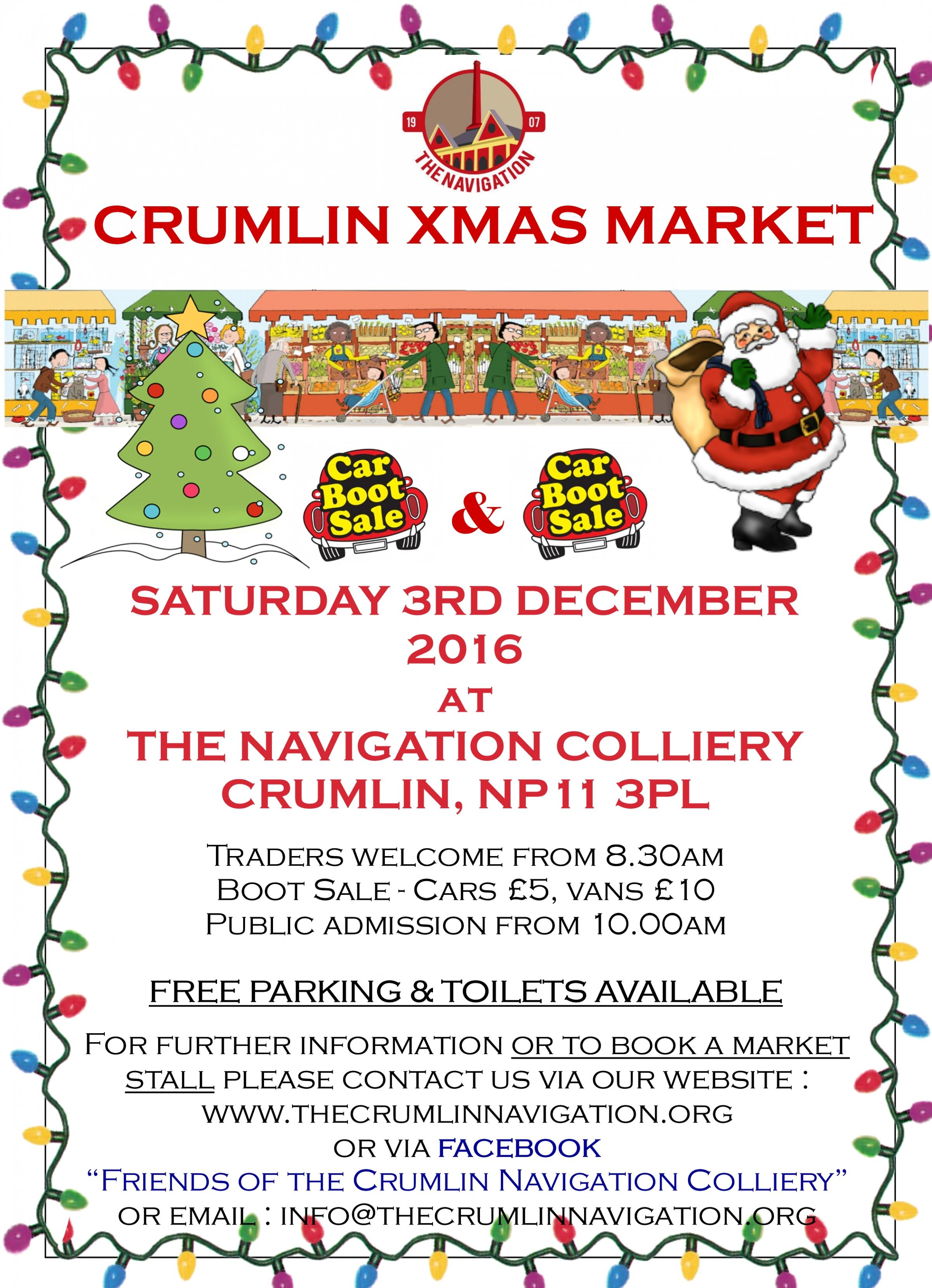 Crumlin Christmas Market & Car Boot Sale