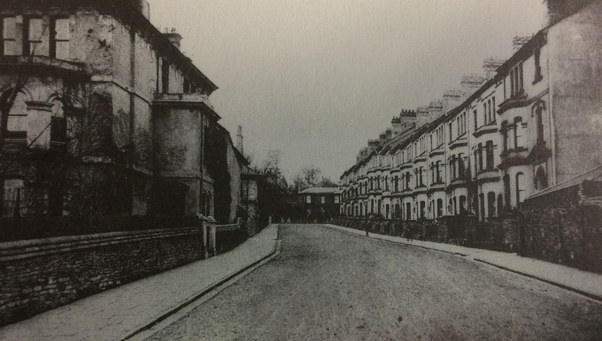 NOW AND THEN: Clytha Square, Newport