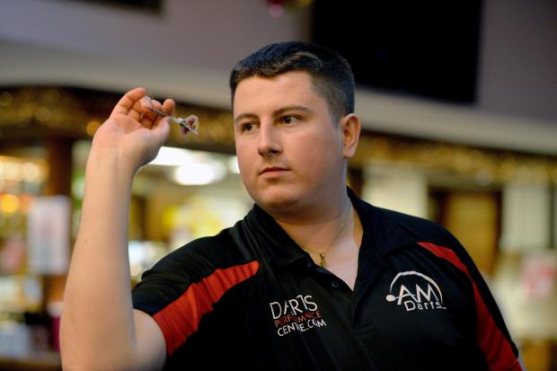 South Wales Argus: UP TO THE OCHE: Cwmbran's Nick Kenny makes his BDO World Championship debut today