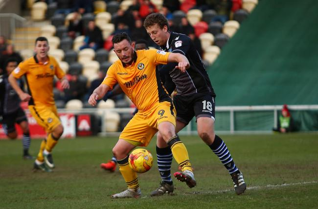 HOME: Former Newport County striker Craig Reid has joined Coventry United