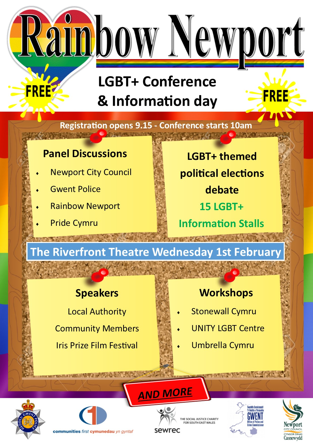 LGBT*+ Conference and Information Day