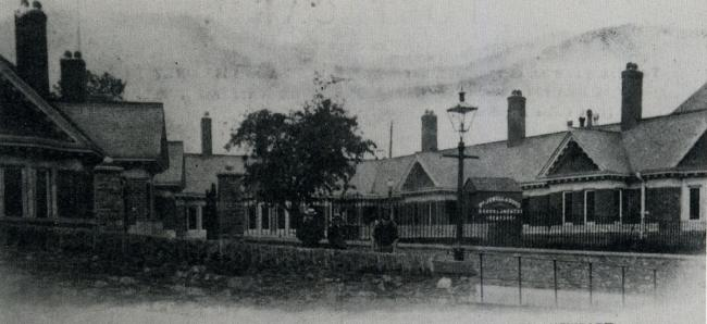 NOW AND THEN: New Almshouses, Stow Hill, Newport