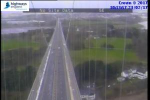 M48 Severn Bridge is now closed only to high-sided vehicles due to high winds
