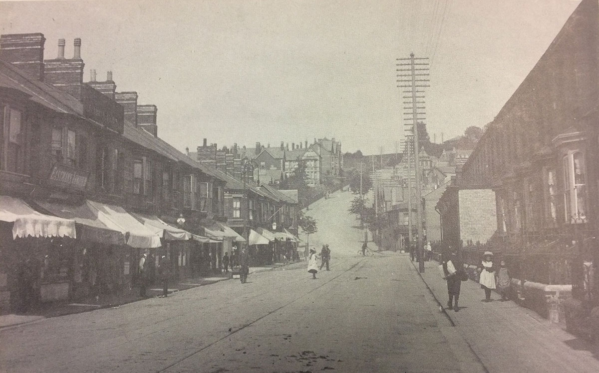 NOW AND THEN: Church Road, Newport