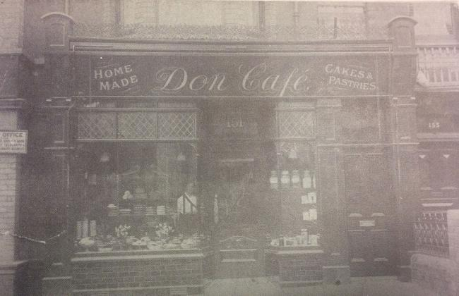 NOW AND THEN: Don Cafe in Caerleon Road, Newport