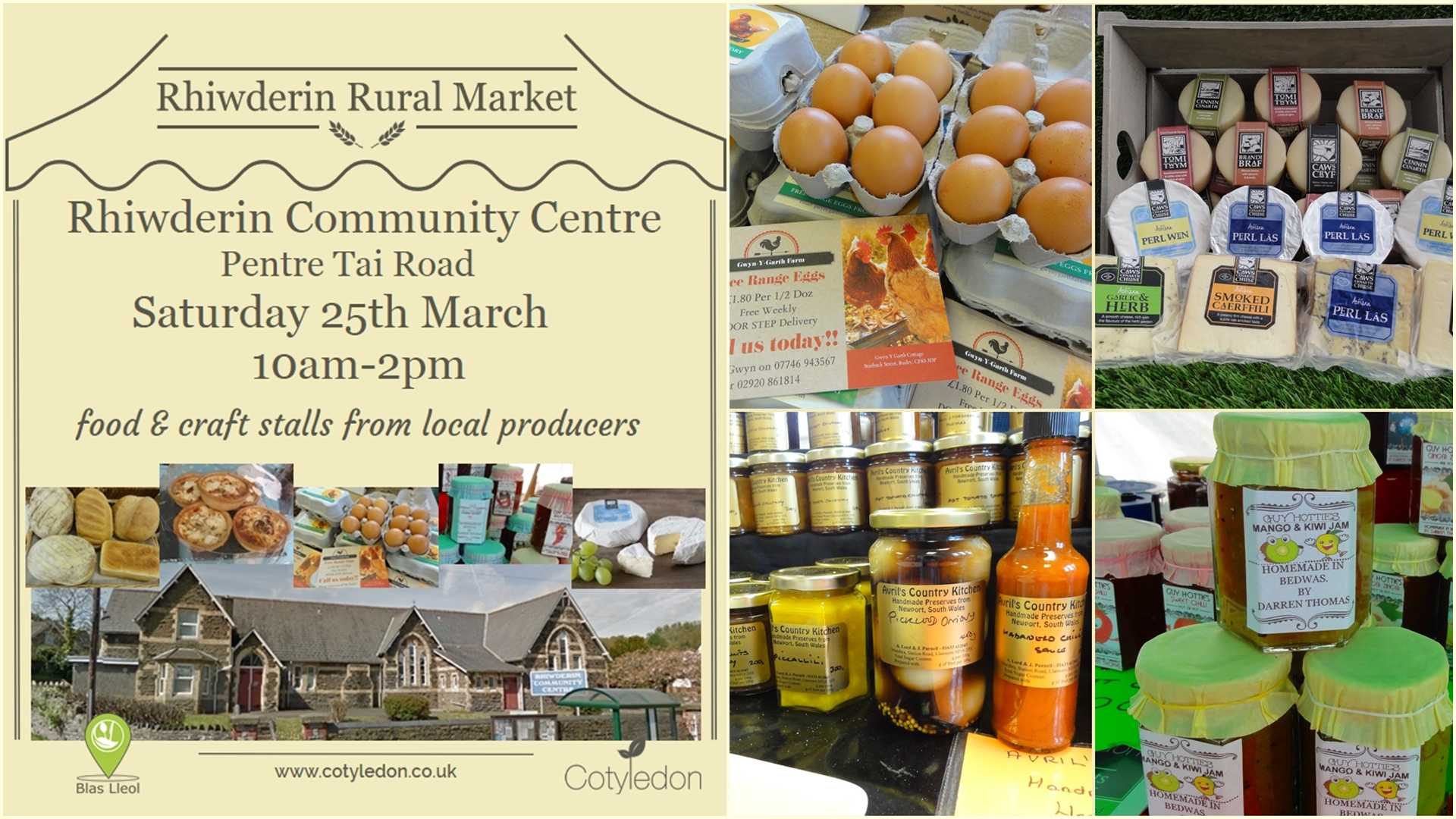 Rhiwderin Rural Market
