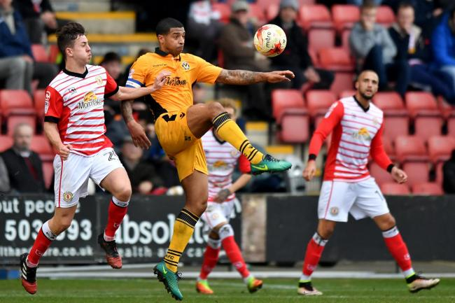 STAYING: Newport County captain Joss Labadie. Pictures: Huw Evans Agency