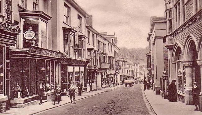 NOW AND THEN: Crane Street, Pontypool