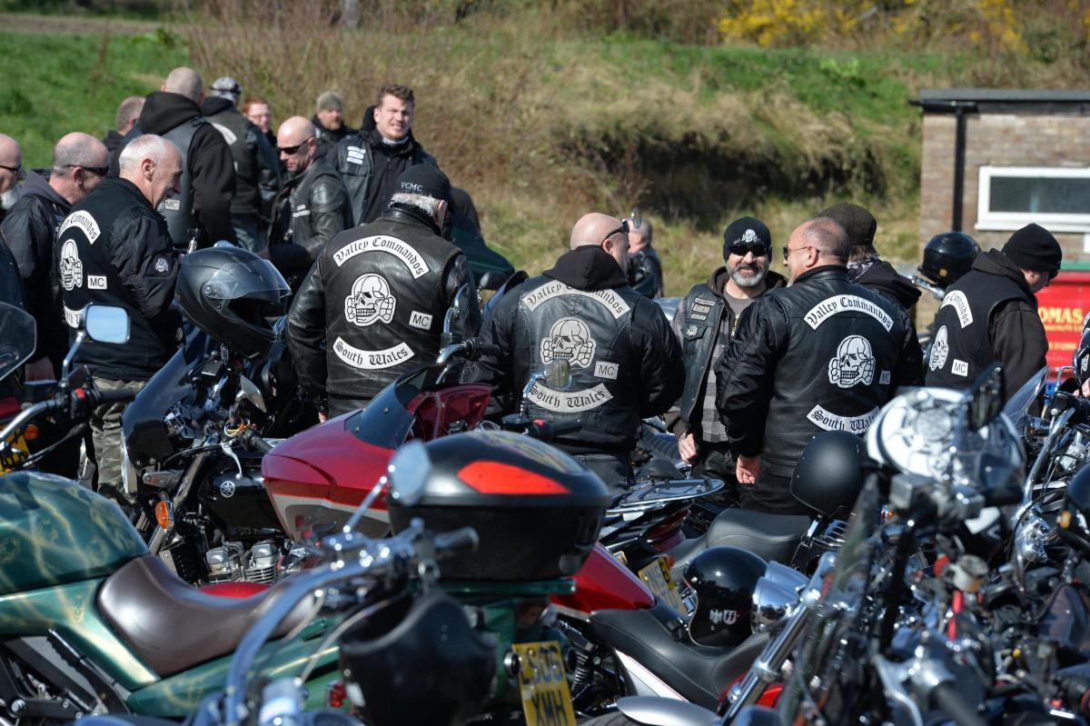 Bikers turn out for Torfaen tribute ride to 'gentle giant' | South
