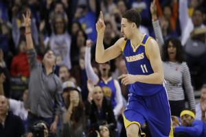 Warriors in seventh heaven after Klay Thompson inspires win over Grizzlies