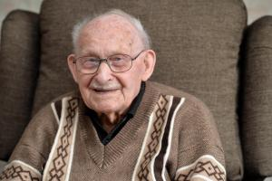 Wishing Ron Jones a happy 100th birthday from the South Wales Argus