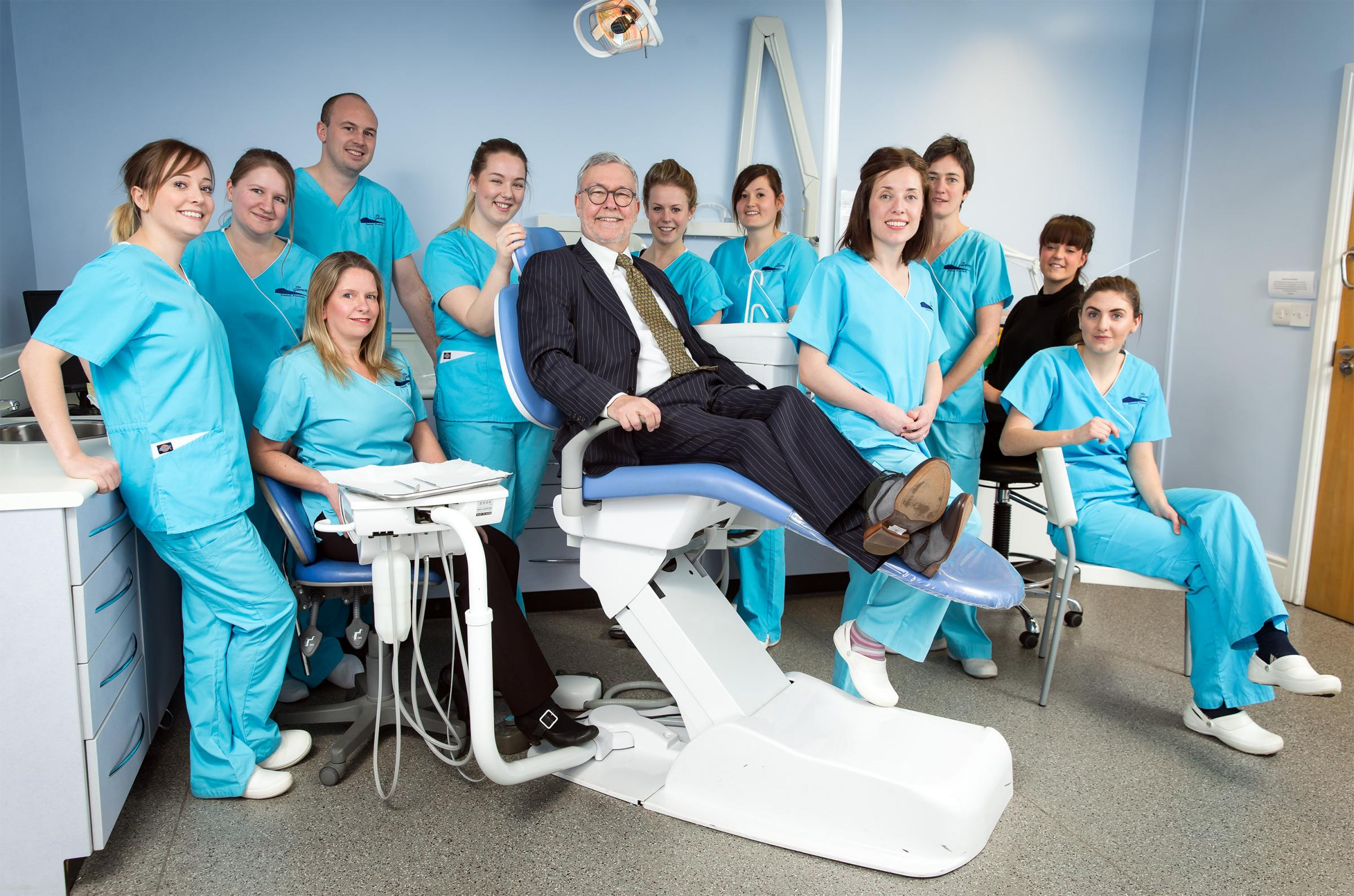 Gateway Dental Practice, Abergavenny, which has been shortlisted for a national award