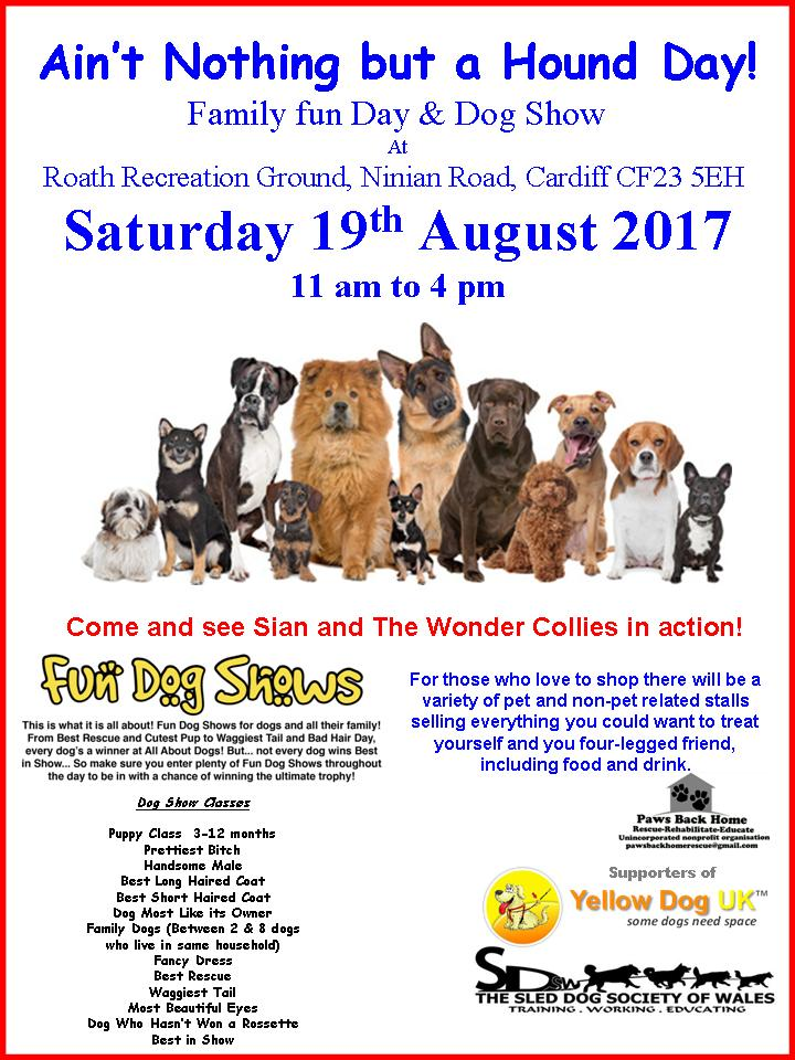 Ain't Nothing But A Hound Day Family Fun Day & Dog Show