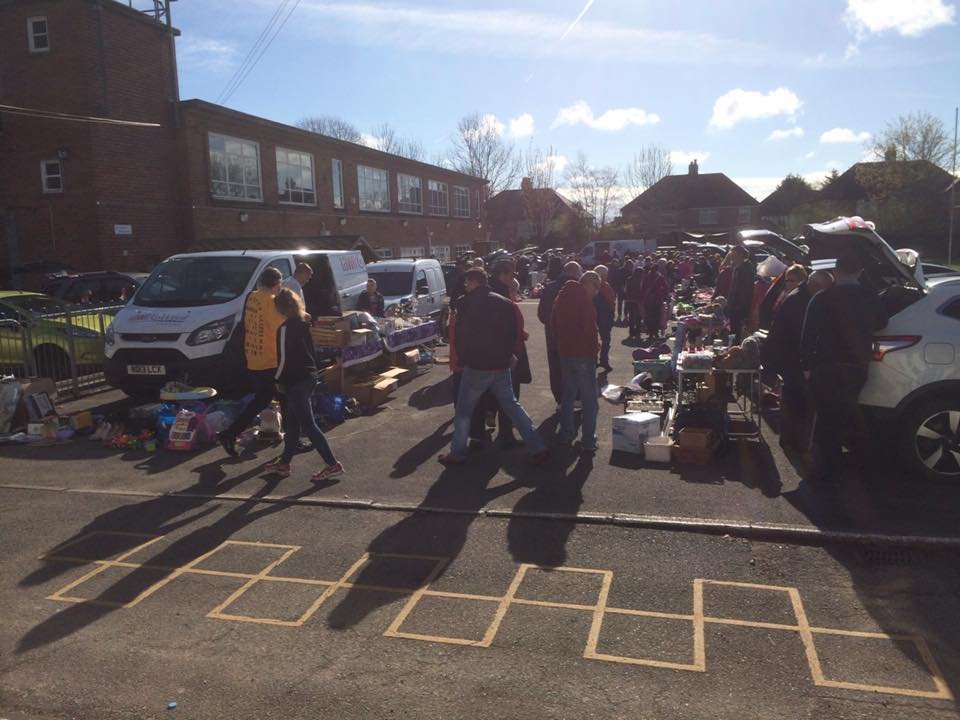 High Cross Primary Car Boot Sale