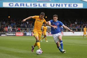 SUBSTITUTE: Newport County striker Aaron Williams replaced the injured Alex Samuel against Carlisle United. Pictures: Huw Evans Agency