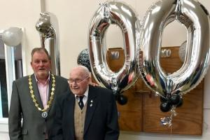 Newport veteran celebrates 100th birthday