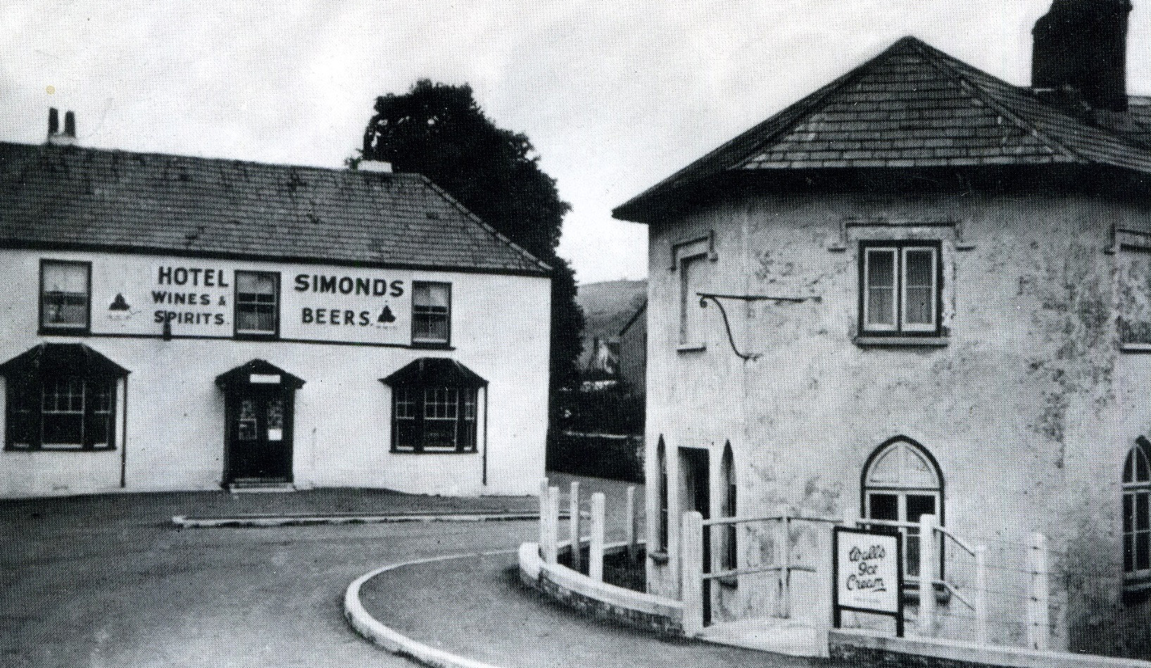 NOW AND THEN: The Ship Hotel and Toll House, Caerleon