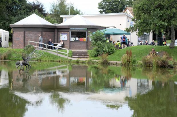 South Wales Argus: The Fourteen Locks Canal Centre in Rogerstone