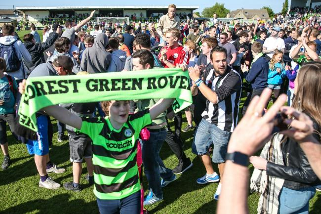 SUCCESS: Forest Green Rovers fans deserve their moment in the sun after nearly two decades in English football's fifth tier
