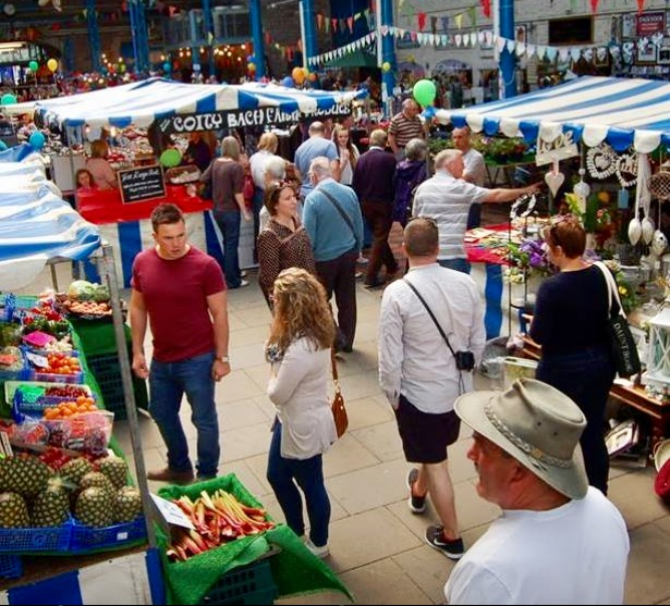 Abergavenny Weekly General Markets